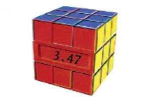 I Szkolny Konkurs układania kostki Rubika na czas